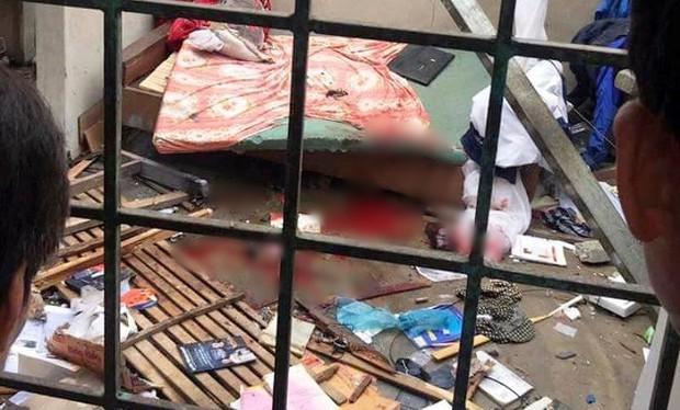 Nổ tung nhà cấp 4, một nam thanh niên bị thương phải nhập viện - Ảnh 1.