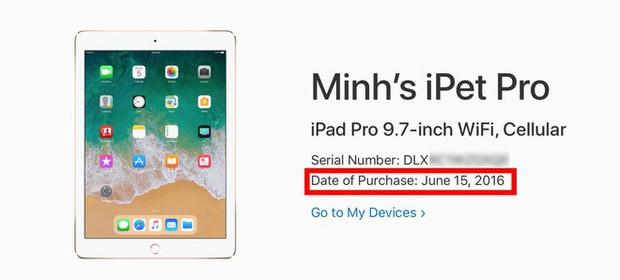 Mua iPhone/iPad cũ giờ đã thoải mái kiểm tra ngày mua gốc, không lo gặp hàng quá đát lừa đảo - Ảnh 4.