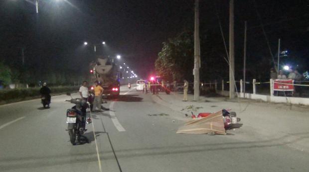 Va chạm với xe bồn, nữ công nhân tử vong trên đường về nhà - Ảnh 2.