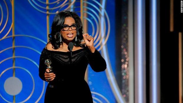 Hậu Quả Cầu Vàng: nữ hoàng truyền hình Oprah Winfrey đang nghiêm túc nghĩ đến chuyện tranh cử Tổng thống Mỹ - Ảnh 1.