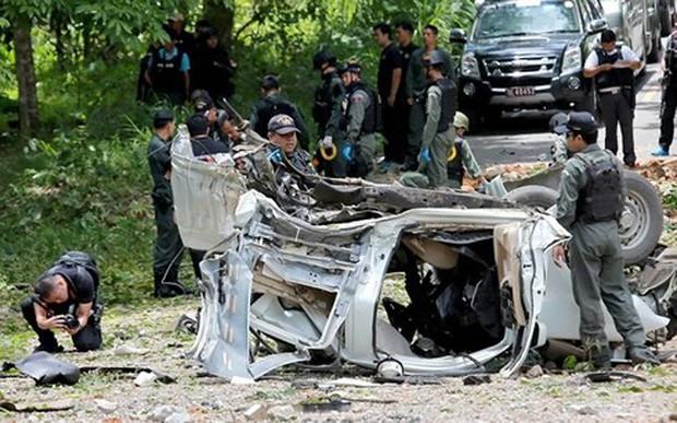 Đánh bom tại khu chợ Thái Lan làm 3 người chết, 18 người bị thương - Ảnh 1.