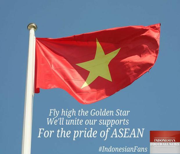 Người hâm mộ Indonesia hết lòng ủng hộ đội U23 Việt Nam: Việt Nam, các bạn không bao giờ đơn độc - Ảnh 2.