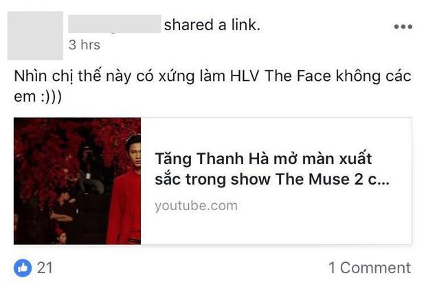 Trở lại quá ngoạn mục, Tăng Thanh Hà được kỳ vọng trở thành HLV The Face Vietnam - Ảnh 4.
