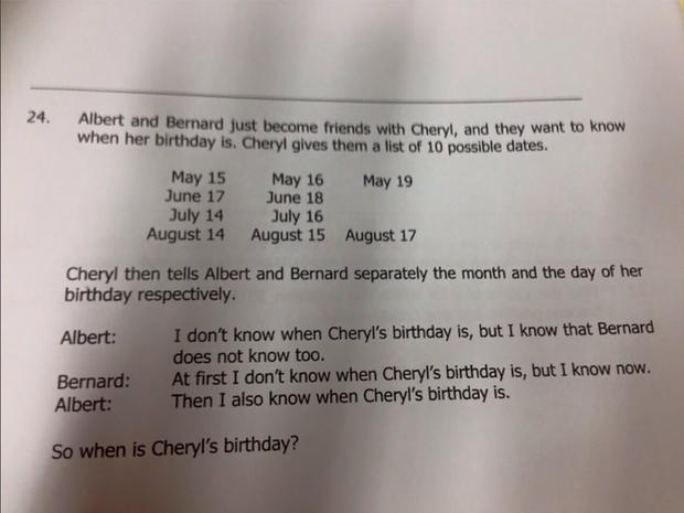9 bài toán khiến cộng đồng mạng trên toàn thế giới đau não, có cả một câu dành cho học sinh lớp 3 của Việt Nam - Ảnh 4.