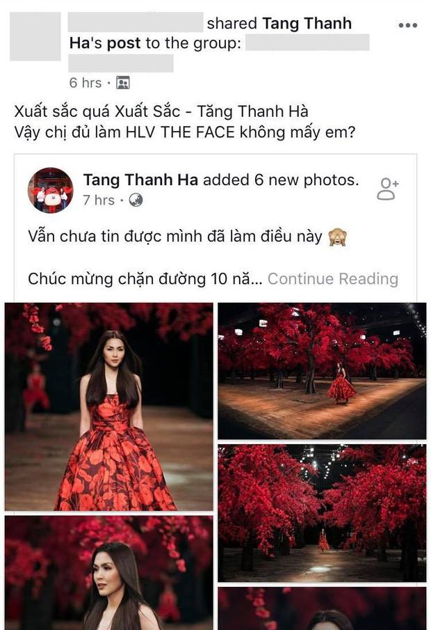 Trở lại quá ngoạn mục, Tăng Thanh Hà được kỳ vọng trở thành HLV The Face Vietnam - Ảnh 5.