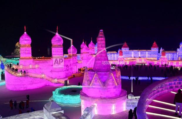 Mãn nhãn trước thế giới thu nhỏ tại Lễ hội Băng đăng quốc tế Harbin - Ảnh 5.