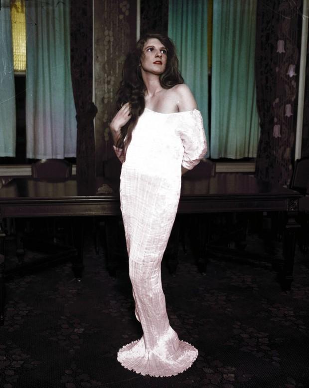 Vẻ đẹp của những hoa hậu Mỹ từ cách đây cả gần 100 năm hồi sinh nhờ công nghệ chỉnh màu ảnh đen trắng - Ảnh 9.