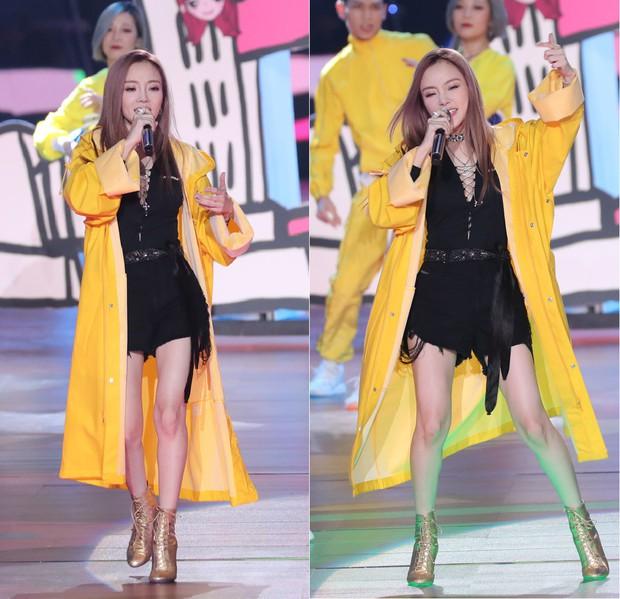 Không phải mẫu trang phục đắt đỏ nào, giờ đây áo mưa mới là thứ được các sao Hoa ngữ chăm diện nhất - Ảnh 2.