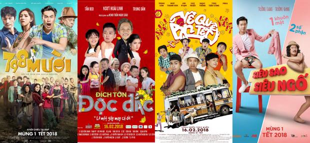 Hoài Linh, Ngô Thanh Vân, Trường Giang và Kiều Minh Tuấn: Đại chiến phim Tết 2018 đã được châm ngòi! - Ảnh 1.