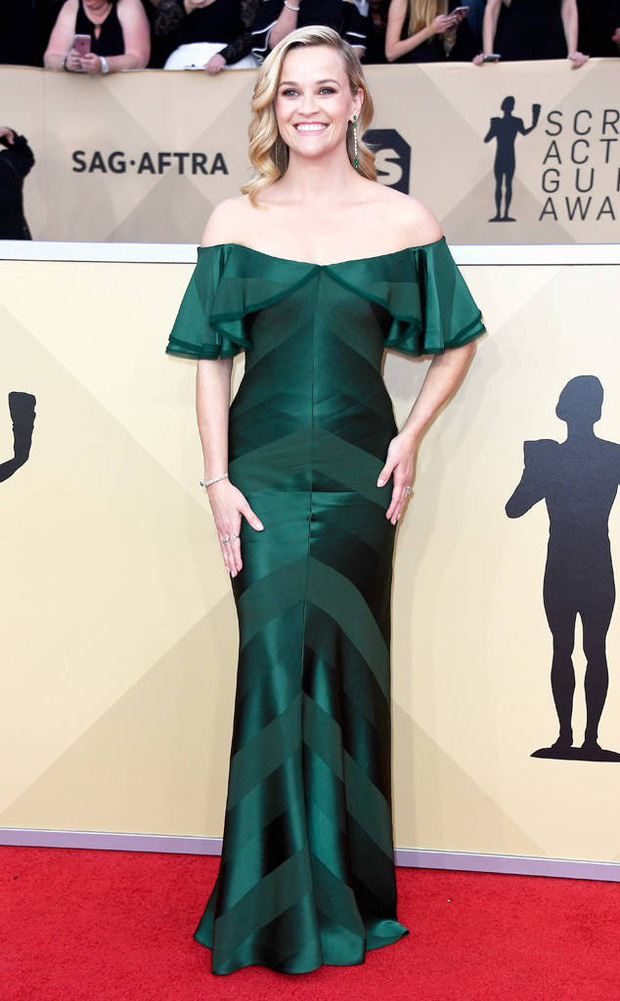 Dàn mỹ nhân Hollywood lại lộng lẫy đủ sắc màu trên thảm đỏ SAG sau phong trào diện đồ đen - Ảnh 2.
