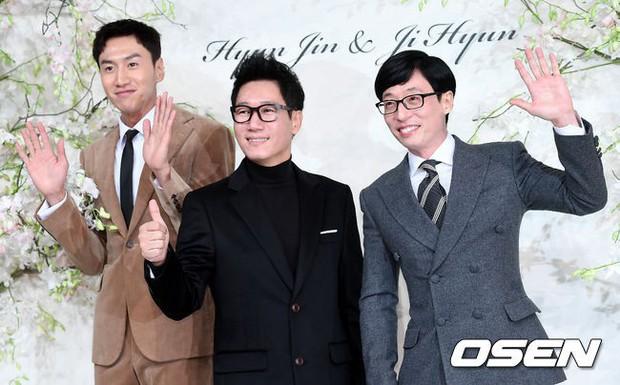 Đám cưới hội tụ toàn sao khủng: Lee Kwang Soo bỗng điển trai, Phạm Băng Băng Hàn Quốc bị mỹ nhân vô danh đè bẹp - Ảnh 1.