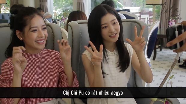 """""""Nữ thần thế hệ mới"""" Chae Yeon hào hứng khi được Chi Pu dạy nói tiếng Việt - Ảnh 9."""