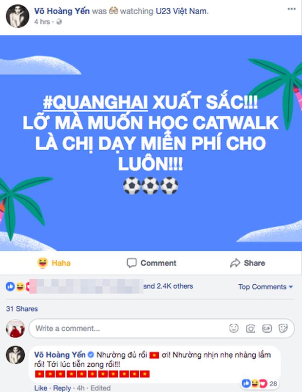 Việt Nam chiến thắng: Đỗ Mạnh Cường muốn Bùi Tiến Dũng làm vedette, Võ Hoàng Yến hứa dạy catwalk cho Quang Hải - Ảnh 2.