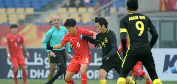 Malaysia chia tay giải U23 châu Á sau trận tứ kết kiên cường với Hàn Quốc - Ảnh 3.