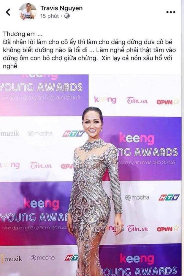 Đại chiến stylist: Chê HHen Niê mặc xấu, cựu stylist của Phạm Hương bị ekip tân Hoa hậu vỗ mặt - Ảnh 1.