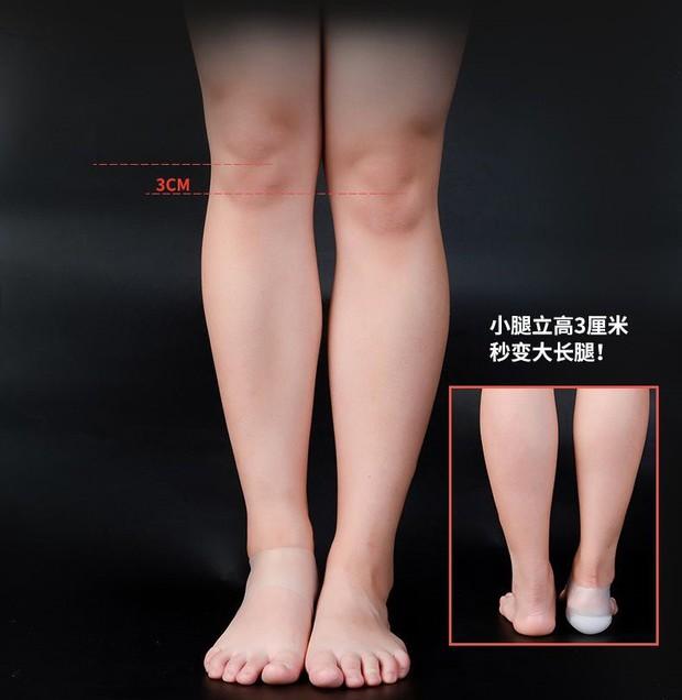 Sau giày độn, giờ còn có cả tất độn giúp tăng chiều cao kín đáo hơn mà các nàng nên update ngay còn kịp - Ảnh 4.
