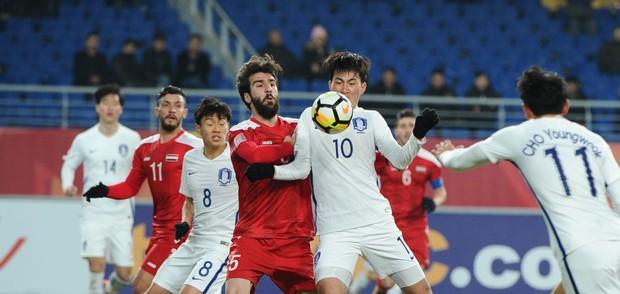 Nhờ copy Việt Nam, U23 Syria mới cầm hòa U23 Hàn Quốc - Ảnh 1.