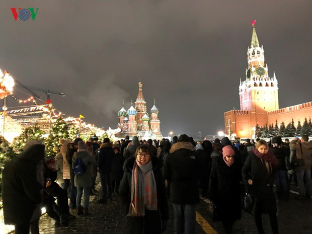 Ảnh: Nước Nga tưng bừng chào đón năm mới 2019 - Ảnh 12.