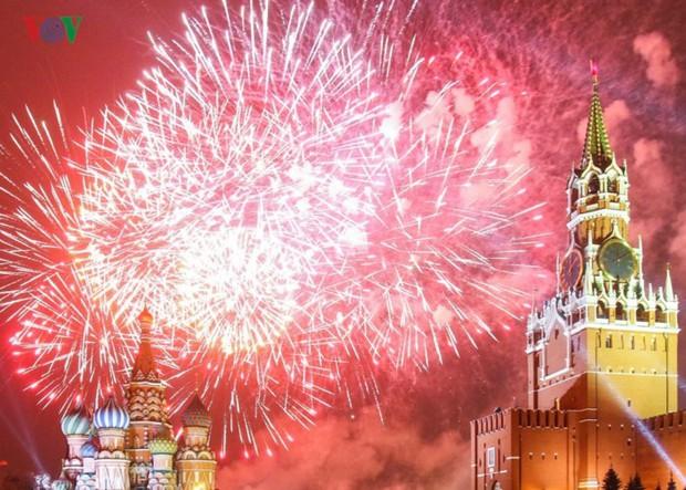Ảnh: Nước Nga tưng bừng chào đón năm mới 2019 - Ảnh 17.
