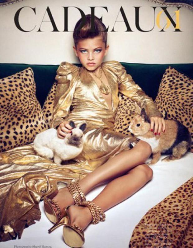 Khó tin vẻ ngoài của người mẫu nhí từng được mệnh danh cô bé đẹp nhất thế giới, gây tranh cãi với bộ ảnh gợi cảm sau 11 năm - Ảnh 6.