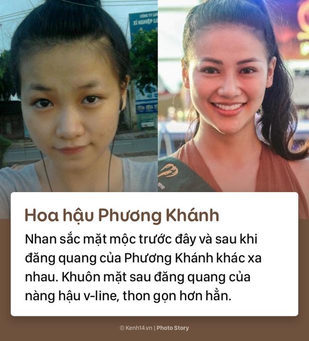 Mặt mộc khác biệt trước đây - bây giờ của các nàng hậu đình đám Việt Nam - Ảnh 1.