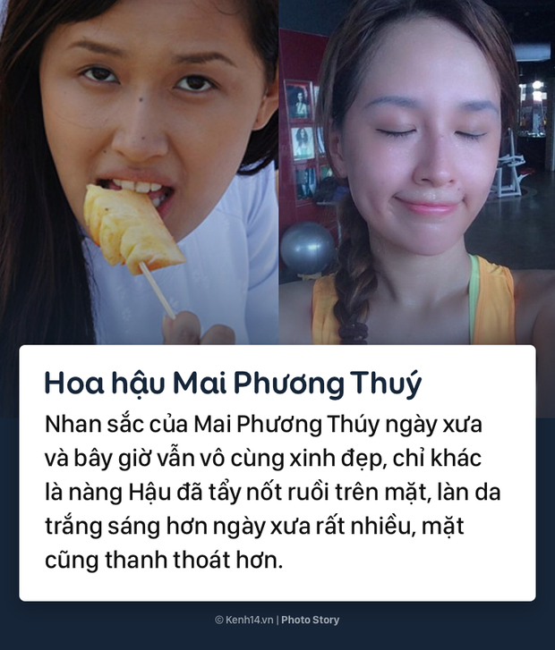 Mặt mộc khác biệt trước đây - bây giờ của các nàng hậu đình đám Việt Nam - Ảnh 5.