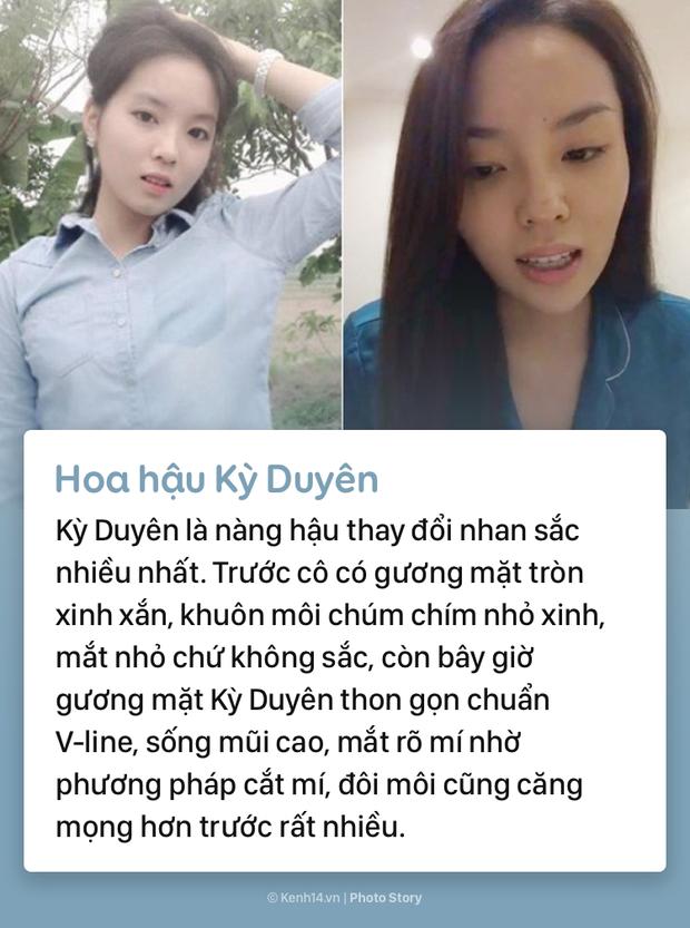 Mặt mộc khác biệt trước đây - bây giờ của các nàng hậu đình đám Việt Nam - Ảnh 11.