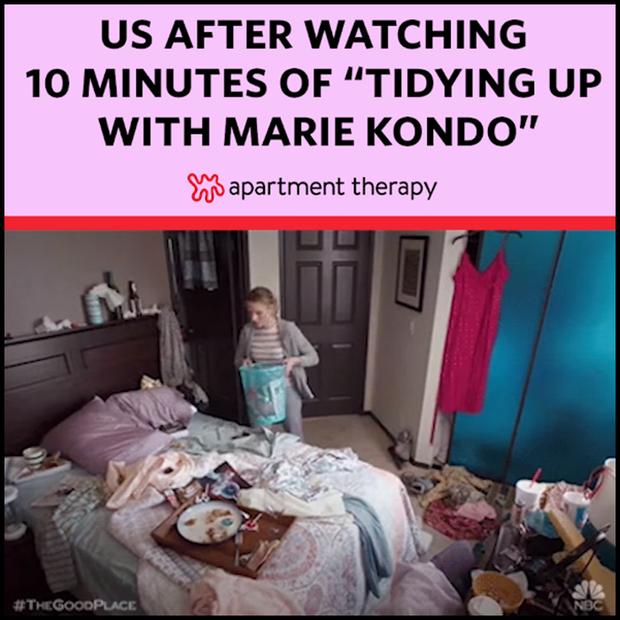 Cơn sốt mới trên Netflix: Dân chúng cuồng phim giờ lại đổ xô đi Dọn Dẹp Cùng Marie Kondo - Ảnh 5.