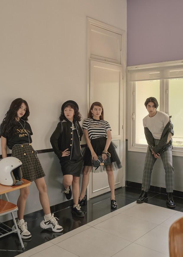 Hồn Papa, Da Con Gái còn chưa nguội, Kaity Nguyễn cùng nhóm bạn thân rủ nhau nổi loạn với web drama mới - Ảnh 10.