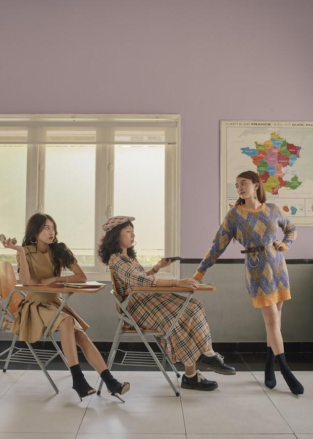 Hồn Papa, Da Con Gái còn chưa nguội, Kaity Nguyễn cùng nhóm bạn thân rủ nhau nổi loạn với web drama mới - Ảnh 9.