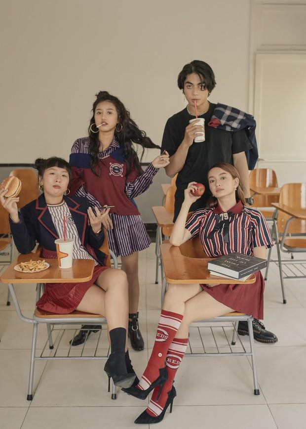 Hồn Papa, Da Con Gái còn chưa nguội, Kaity Nguyễn cùng nhóm bạn thân rủ nhau nổi loạn với web drama mới - Ảnh 11.