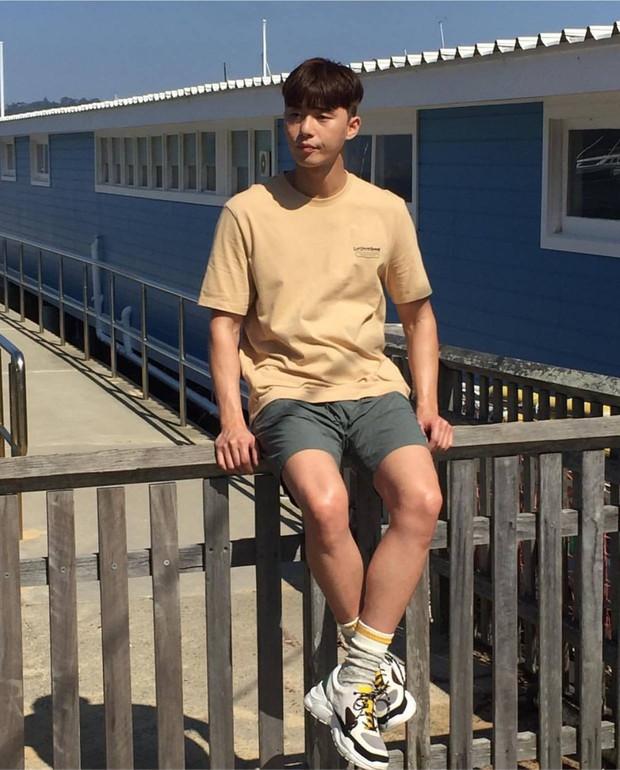 Chuyện đáng yêu nhất hôm nay: Bác Tây chụp lén trai đẹp ở Úc, sau tá hỏa vì phát hiện chàng là tài tử Park Seo Joon - Ảnh 5.