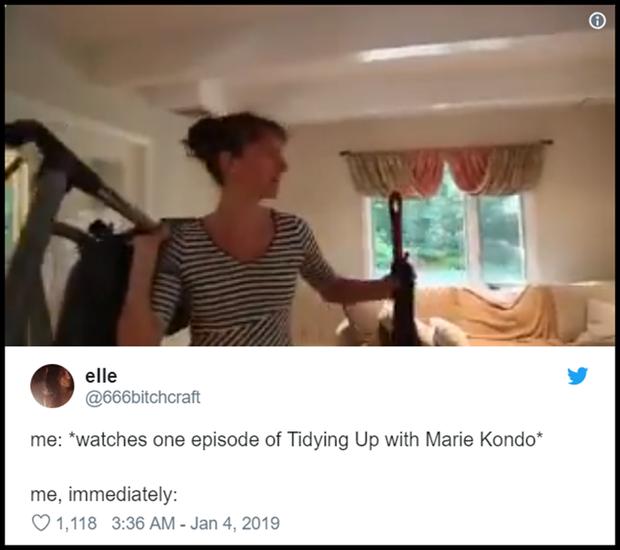 Cơn sốt mới trên Netflix: Dân chúng cuồng phim giờ lại đổ xô đi Dọn Dẹp Cùng Marie Kondo - Ảnh 6.