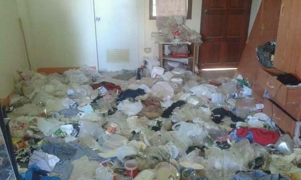 Cho nữ sinh viên thuê phòng trọ, chủ nhà tá hoả khi nhà mình biến thành bãi rác khổng lồ, bốc mùi hôi thối - Ảnh 4.