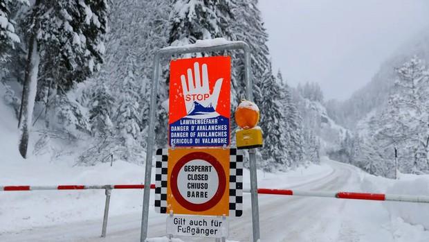 Lở tuyết tại Áo khiến 3 người thiệt mạng - Ảnh 1.