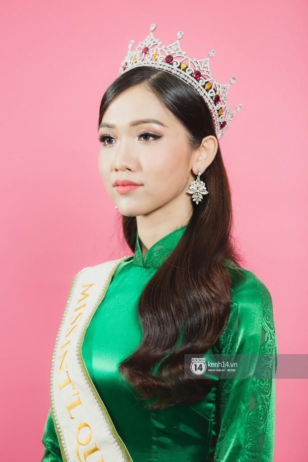 Quán quân The Tiffany Vietnam Nhật Hà diện áo dài đọ sắc cùng Hoa hậu Hương Giang và Á hậu Yoshi - Ảnh 16.
