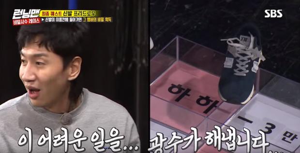 Running Man: Lee Kwang Soo nổi điên đá văng giày khi liên tục bị trêu ghẹo chuyện tình cảm - Ảnh 4.
