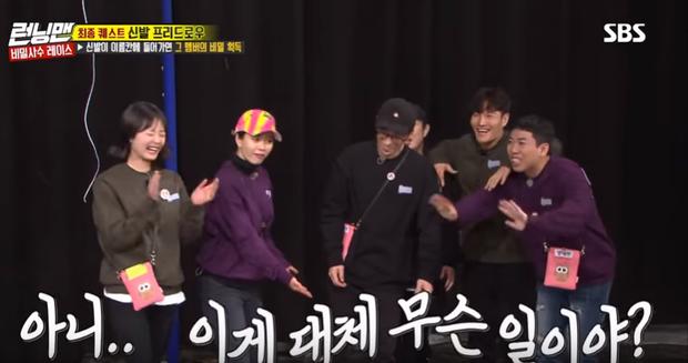 Running Man: Lee Kwang Soo nổi điên đá văng giày khi liên tục bị trêu ghẹo chuyện tình cảm - Ảnh 5.