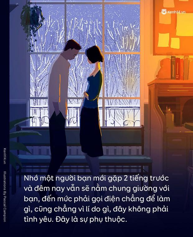 """Bạn có thể yêu một người rất nhiều, nhưng cái """"rất nhiều"""" ấy rồi cũng sẽ phá hủy mối quan hệ của hai bạn - Ảnh 2."""