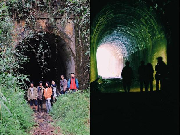 Hầm xe lửa Đà Lạt đẹp như phim Em sẽ đến cùng cơn mưa  - Ảnh 9.