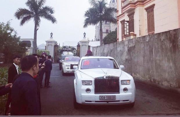 Xôn xao hình ảnh cô dâu vàng đeo trĩu cổ, đám cưới xuất hiện 2 siêu xe Rolls-Royce - Ảnh 6.