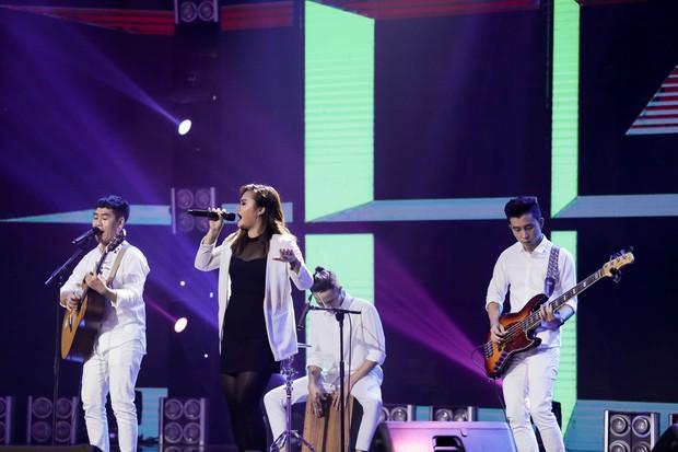 Ban nhạc Việt: Mang cả chồng ra chiêu dụ thí sinh nhưng Mỹ Linh vẫn không thắng nổi Phương Uyên - Ảnh 3.