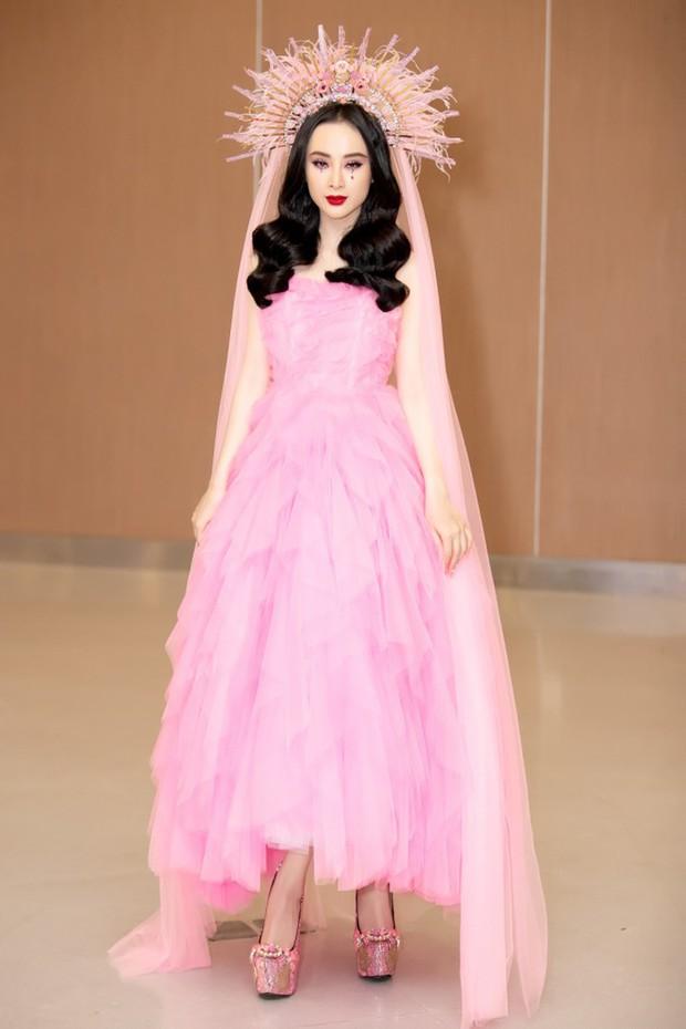 Chiếm trọn spotlight thảm đỏ nhưng Angela Phương Trinh không thanh thoát bằng Bảo Anh, cũng chẳng ngọt ngào như Hạ Vi khi diện váy ấn tượng - Ảnh 1.