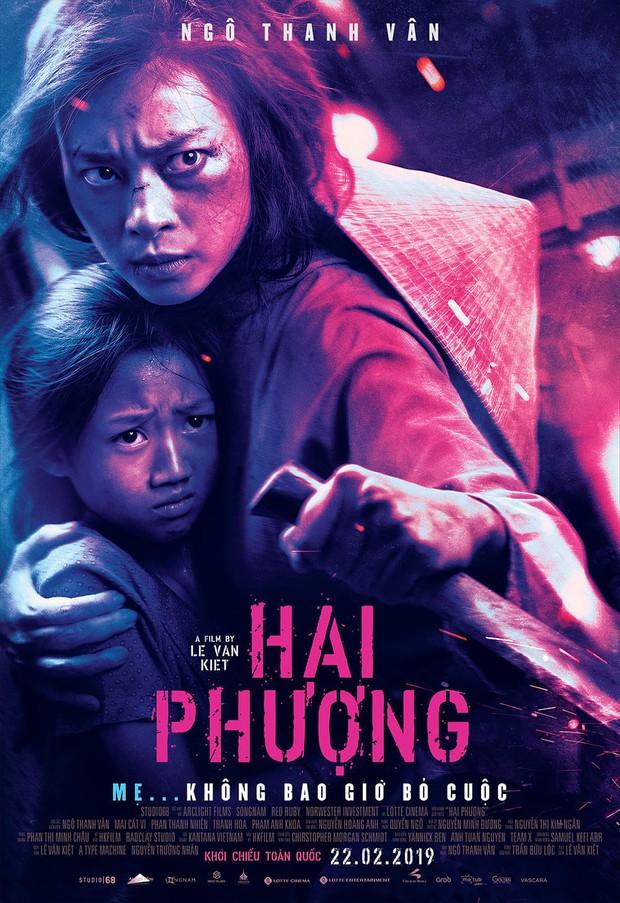 Poster Hai Phượng của Ngô Thanh Vân nhìn có na ná siêu phẩm của Won Bin - Ảnh 1.