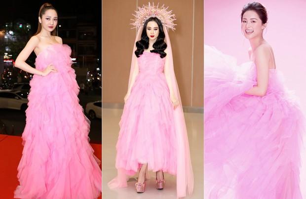 Chiếm trọn spotlight thảm đỏ nhưng Angela Phương Trinh không thanh thoát bằng Bảo Anh, cũng chẳng ngọt ngào như Hạ Vi khi diện váy ấn tượng - Ảnh 7.