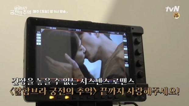 Chỉ có fan tinh ý mới phát hiện cô nàng Park Shin Hye có thói quen siêu cấp dễ cưng ở hậu trường Hồi Ức Alhambra - Ảnh 4.