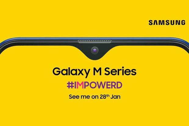 Galaxy M với màn hình giọt nước, pin khủng sạc nhanh chính là câu trả lời của Samsung dành cho Xiaomi? - Ảnh 1.
