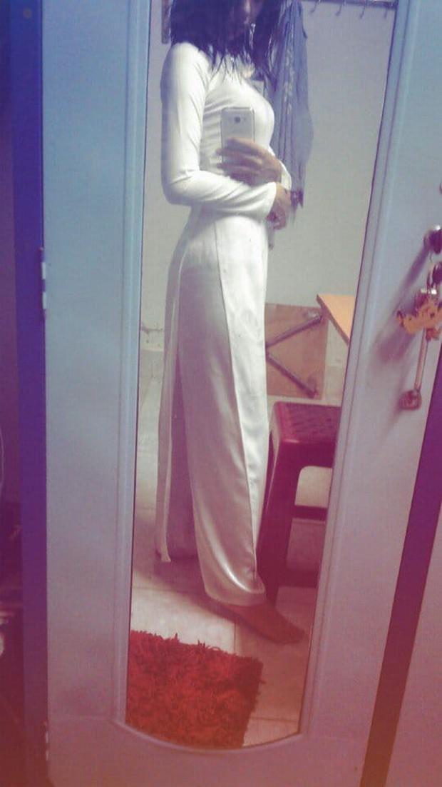 Nữ sinh Việt diện áo dài trắng: Người xinh đẹp trong trẻo xuất sắc, người quyến rũ với 3 vòng siêu chuẩn - Ảnh 3.