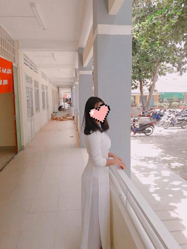 Nữ sinh Việt diện áo dài trắng: Người xinh đẹp trong trẻo xuất sắc, người quyến rũ với 3 vòng siêu chuẩn - Ảnh 5.