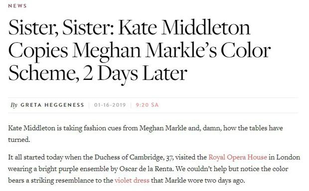 Công nương Kate Middleton bị nghi bắt chước em dâu Meghan Markle, nhưng sự thật đáng ngưỡng mộ sau đó là gì? - Ảnh 3.